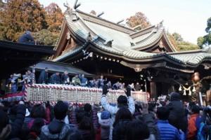 2月10日11日は筑波山神社で年越し祭!豆まき!