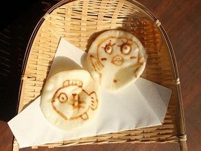 お煎餅アート3